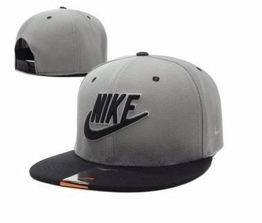 Boné Aba Reta Nike Masculino Importado Cinza - R  89 51fd39df486
