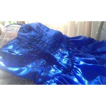 Vestido De 15 Años Azul Rey (incluye Armador Y Guantes)