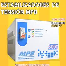 Estabilizador Automatico De Tension 5000w Casas Oficinas Eco