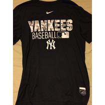 Remera Yankees Baseball Oficial