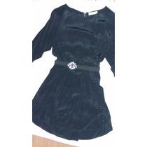 Vestido Negro Jazmin Chebar