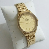 Relógio Champion Feminino Cn29856x - Dourado