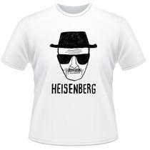 Camiseta Heisenberg Breaking Bad Walter White Camisa