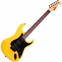 Guitarra Mod Fender Tagima Memphis Mg32 Cor Amarelo Neon