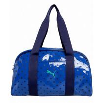 Bolso Puma A Lunares Azul Handbag Spirit