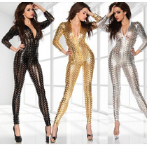 Sexi Body Suit Sexy Jumpsuit Disfraz Erotico Table Dance Sex