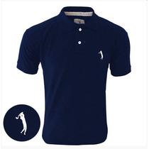 Camisa Camiseta Gola Polo Masculina Aleatory Promoção