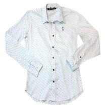 Camisa Sergio K - Branca/preta