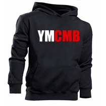 Blusa Ymcmb Young Money Cash Money Moletom Canguru !!!