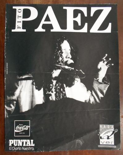Poster De Fito Paez Diario Puntal Rio Cuarto Cordoba 1993 - $ 300,00 ...