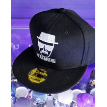 Gorra Heisenberg Breaking Bad Walter Tipo New Era Plana