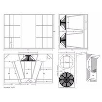 Venta De Planos De Cajas Austicas Tipo Sp4,sp2 Y Monitores