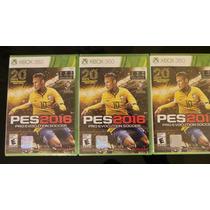 Pes 2016 Xbox 360 Nuevo Sellado