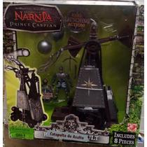 Set De Narnia El Principe Caspian. Telmarino Y Catapulta.