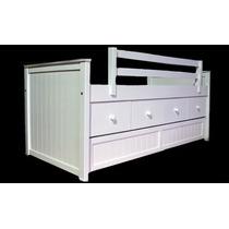 Carro cajonera bajo cama blanco todo para tu dormitorio - Cajonera bajo cama ...
