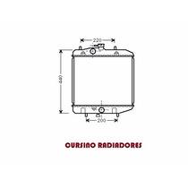 Radiador Daihatsu Charade 93-98 Aut/ Mec Gasolina