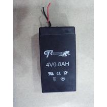 Bateria De Gel Recargable De 0.8ah De Capacidad Y 4v