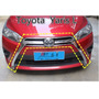 Toyota Yaris Hatchback 14 - 16 Parrilla/grill Delant Cromada