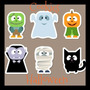 Lamina Comestible Cookies Halloween Noche D Brujas Fototorta