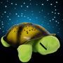 Luminária Tartaruga Projetor Estrelas Som E Leds 4 Cores
