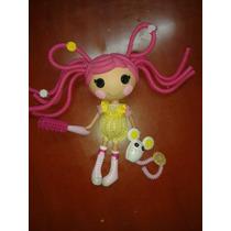 Muñeca Lalalopsy Pelos Locos 30 Cm Con Mascota Original