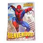 Cotillon Oficial Hombre Araña 20 Niños Spiderman