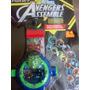 Relógio Vingadores Com Projetor Cabeça Hulk