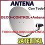 Kit Antena Tv Satelital Armada Con Todo Kit Lista Para Usar