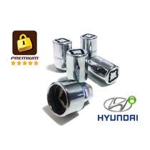Kit Porcas Anti Furto Roda Hyundai I30 & Novo (4+1) Premium
