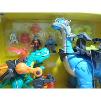 Fisher-price Imaginext Paquete Doble Alosaurio Y Apatosaurio