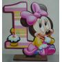 20 Souvenirs Minnie Bebe Nº 1 + 1 Central En Fibrofaciil