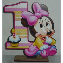 20 Souvenirs Minnie Bebe Nº 1 + Central En Fibrofaciil