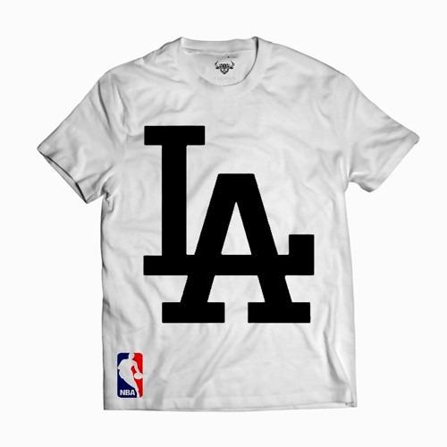 319d0f0f2a02b Camisa Camiseta La Basquete Blusa Los Angeles Dodgers - R  30