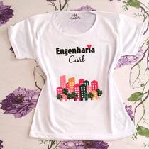 T-shirt Camiseta Personalizada - Profissão Engenharia Civil