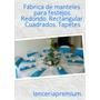 Mantel Redondo 2.78 Metros Fiesta Festejo Decoración