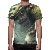 Camisa, Camiseta Game Shadow Of The Colossus Mod 02