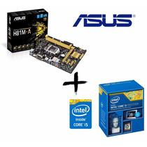 Kit Ci5 4460 + Placa Mãe Asus H81m-a
