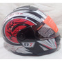 Casco Para Motociclista Abatible R7 Racing R7-108 Dot Rojo