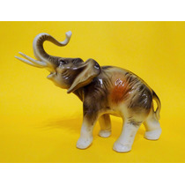 Hermoso Elefante En Porcelana De Royal Dux Art 469