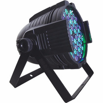 Luz Dj Par 64 Rgb 54 Leds 3w Display Dmx Digital Strobo