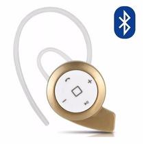 Mini Audífono Bluetooth Manos Libres Auricular - Dorado