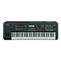 Teclado Sintetizador Yamaha Moxf-6 Preto 61 Teclas Com 72 Ki