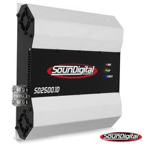 Modulo Amplificador Soundigital Sd 2500w Rms Digital
