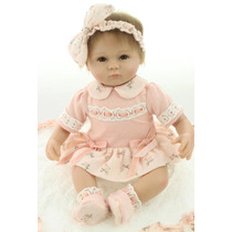 Boneca Bebê Reborn Barata 45 Cm Pronta Entrega Fotos Reais
