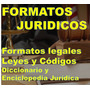 Formatos Jurídicos Documentos Legales Libros Codigos Leyes