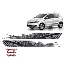 Kit Adesivo Lateral Grafite Volkswagen Fox Rock In Rio 2015