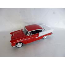 Chevrolet Bel Air 1955 Motor Max Escala 1/24 Autos