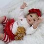 Promoção Natal Boneca Bebê Reborn Realista 55cm Frete Grátis