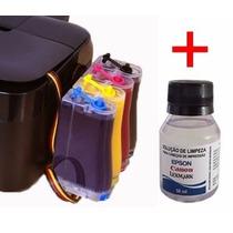 Bulk Ink Epson C63, Cx3500, Cx4500 + Kit Limpeza - Sem Tinta