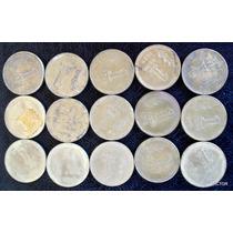 1 Peso 1975 Se Vende Lote 15 Monedas